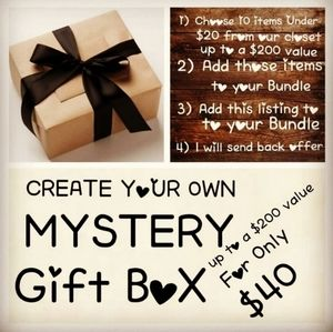 Mystery Boxes Lot Bundle Create your Own 10 for 40